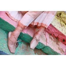 Жіночі сітчасті носочки з перлами забарвлення