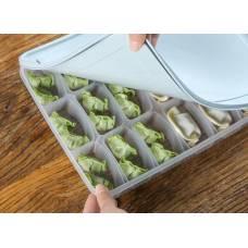 Контейнер для заморозки і зберігання харчових продуктів пельменів