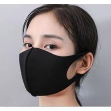 Миється чорна бавовняна маска