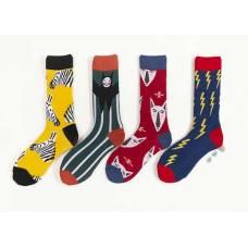 Різнокольорові шкарпетки з малюнком