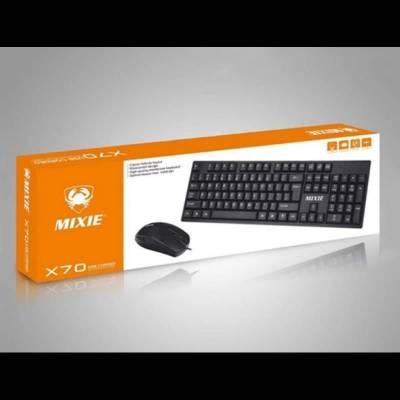 Комплект клавиатура+мышь MIXIE X70