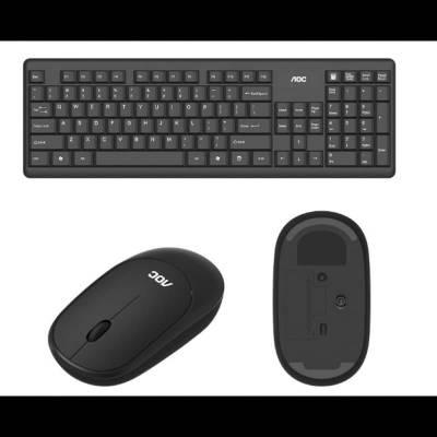 Беспроводная Bluetooth клавиатура AOC KM200 + мышь
