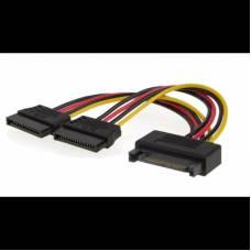 Кабель, переходник питания SATA Power SATA (M) - SATA*2 (F)