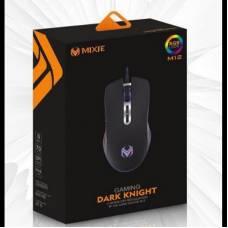 Игровая USB мышь MIXIE M12 с RGB подсветкой