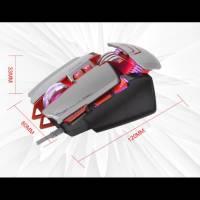 Ігрова USB миша MIXIE M9 з RGB підсвічуванням