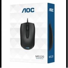 USB оптическая USB мышь AOC MS120 для ноутбука, ПК, 800dpi