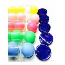 Набор мячей для настольного тенниса 6 штук в пластиковом тубусе шарики для пинг понга