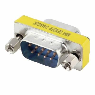 Перехідник DB9 (COM) тато-тато 9 pin RS232