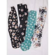 Жіночі шкарпетки з ромашками