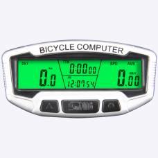 Бездротовий велокомп'ютер, 28 функцій, SunDing SD-558C