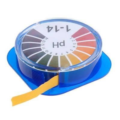 Лакмусовая индикаторная бумага pH тест полоски pH1-14, 5 метров