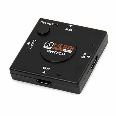 3-портовый HDMI свич, селектор 1080p переключатель