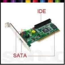 Контролер PCI на 3 SATA + 1 IDE, підтримка RAID