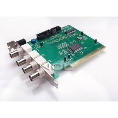 4-канальная PCI карта видеонаблюдения видеозахвата