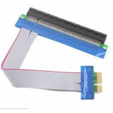 PCI-E 1X to 16X шлейф 15см - подовжувач для відеокарти