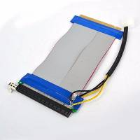 Райзер riser шлейф PCI-E PCIe PCI express 16x 16x з додатковим живленням