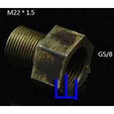 Переходник к баллону СО2, G5/8 - M22