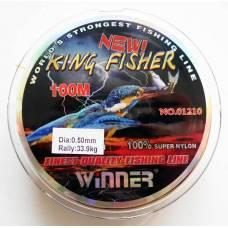 Жилка Winner King Fisher 0,50 мм. 100 м. Камуфляж