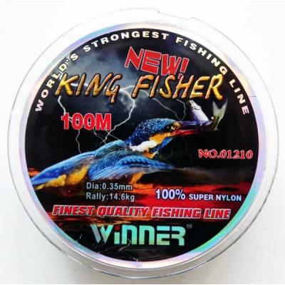 Леска Winner King Fisher 0,35 мм. 100 м. Камуфляж.