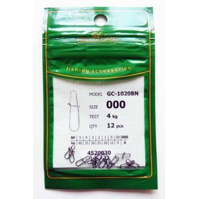 Защібка Американка Golden Catch №000 1020BN