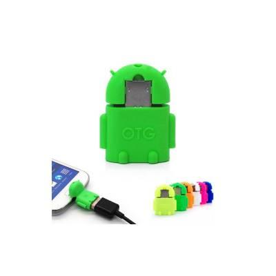 USB адаптер для пристроїв з функцією OTG (під флешки роз'єм micro USB), Micro usb to USB OTG