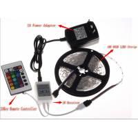 Светодиодная лента RGB+Пульт+Контроллер - прекрасная управляемая гирлянда для новогодней елки