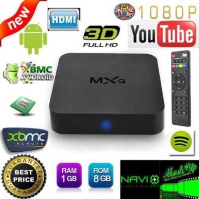 HD медиаплеер Android 4.4.2 TV Box Mxq Amlogic S805 Android 4.4 +пульт ДУ