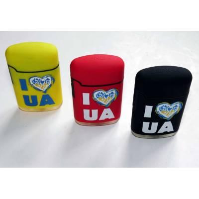 Зажигалка. I love UA. Я люблю Украину