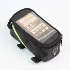 Сумка на раму велосипеда для смартфонов диагональю от 4.2 до 5.5 дюймов