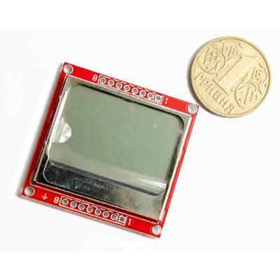 84x48 графический ЖК-дисплей Nokia 5110, Arduino