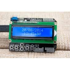 LCD Keypad Shield модуль Arduino с 1602 ЖК-дисплеем