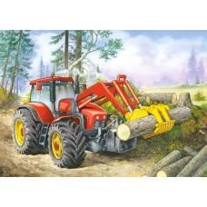 Пазл Трактор 24 шт, 4+