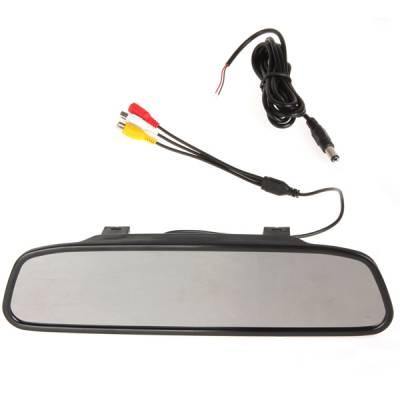 Автомобильное зеркало заднего вида с 4.3 монитором