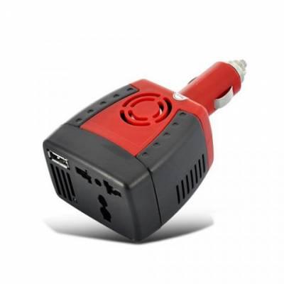 Автомобильный инвертор 12 В - 220 В и USB 150 Вт