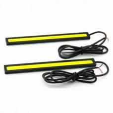 Денні ходові вогні, 2x6 Вт, DRL LED довгі, 17 см