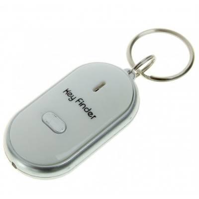 Брелок с фонариком для поиска ключей на звук свиста