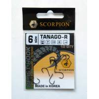 Крючок Scorpion TANAGO-R №6