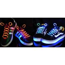 LED-шнурки, що світяться, різнокольорові