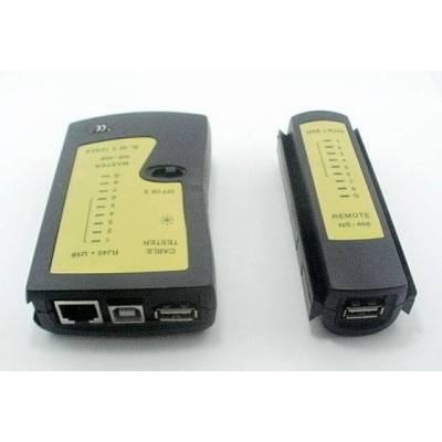 Тестер сети RJ45, USB кабеля + чехол
