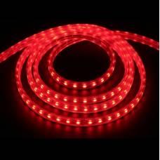 Светодиодная лента 220V SMD 3528 60 IP68 красная, red