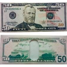 Гаманець, портмоне, візитниця 50 доларів
