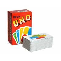 Настольная карточная игра Uno Уно, аналог Сто одно, 450г/м2