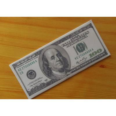 Кошелек, бумажник, портмоне, старые 100 долларов