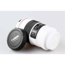 Чашка-термос об'єктив Canon EF 100 мм біла, кухоль