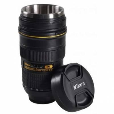 Чашка-термос объектив Nikon 24-70mm Zoom Nikkor