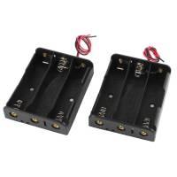 Бокс на 3 батареи 18650, 11,1 В, питание Arduino