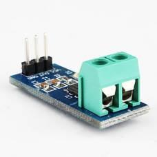 Давач струму 5А ACS712, ефект Холла, модуль Arduino