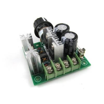 ШИМ-регулятор скорости мотора DC 12-40В 10А 13КГц