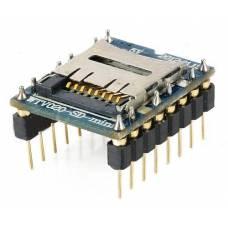 Звуковой модуль, microSD аудиоплеер, для Arduino