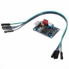 Модуль АЦП/ЦАП на PCF8591, цифра аналог, Arduino